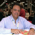 Mark Tatulli at the NY Book Fair. Photo credit: Luigi Novi.