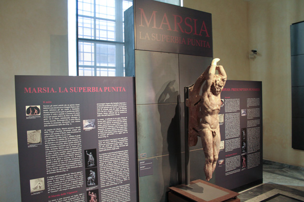 Vignacce Marsyas goes on display at Capitoline Museums