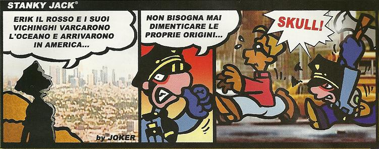 THE ITALIAN COMIC BOOK STARRING POLICE OFFICER SUPERHERO JACK STANKY WILL NOW BE AVAILABLE IN USA