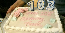 Happy Birthday Teresa!!! One of Our Readers Celebrates Her 103rd Birthday….