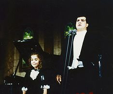 Federico's daughter Rebekah is the child soprano on all his recordings.